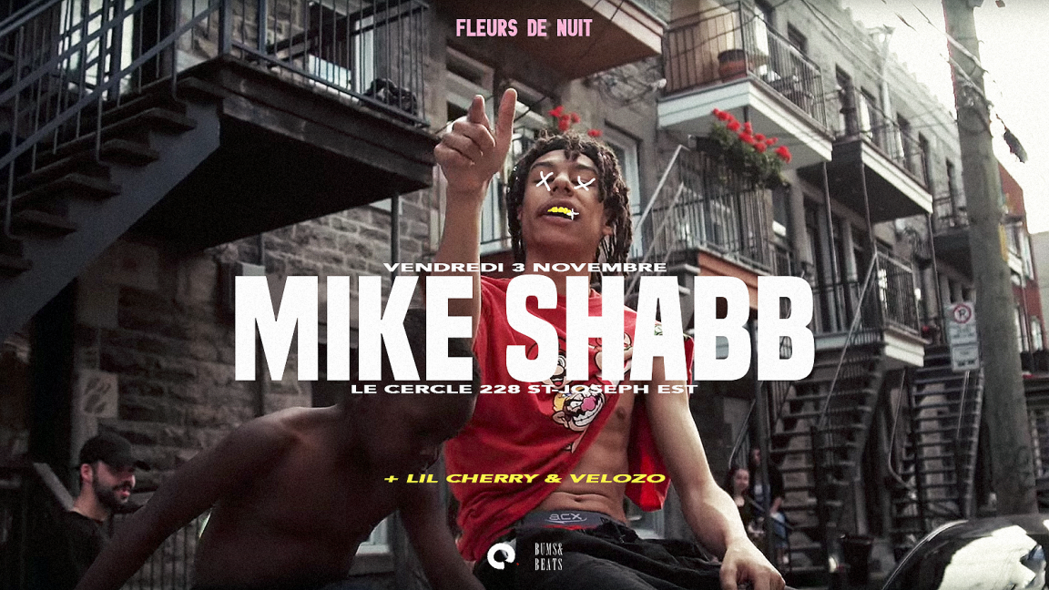 MIKE SHABB @ LE CERCLE