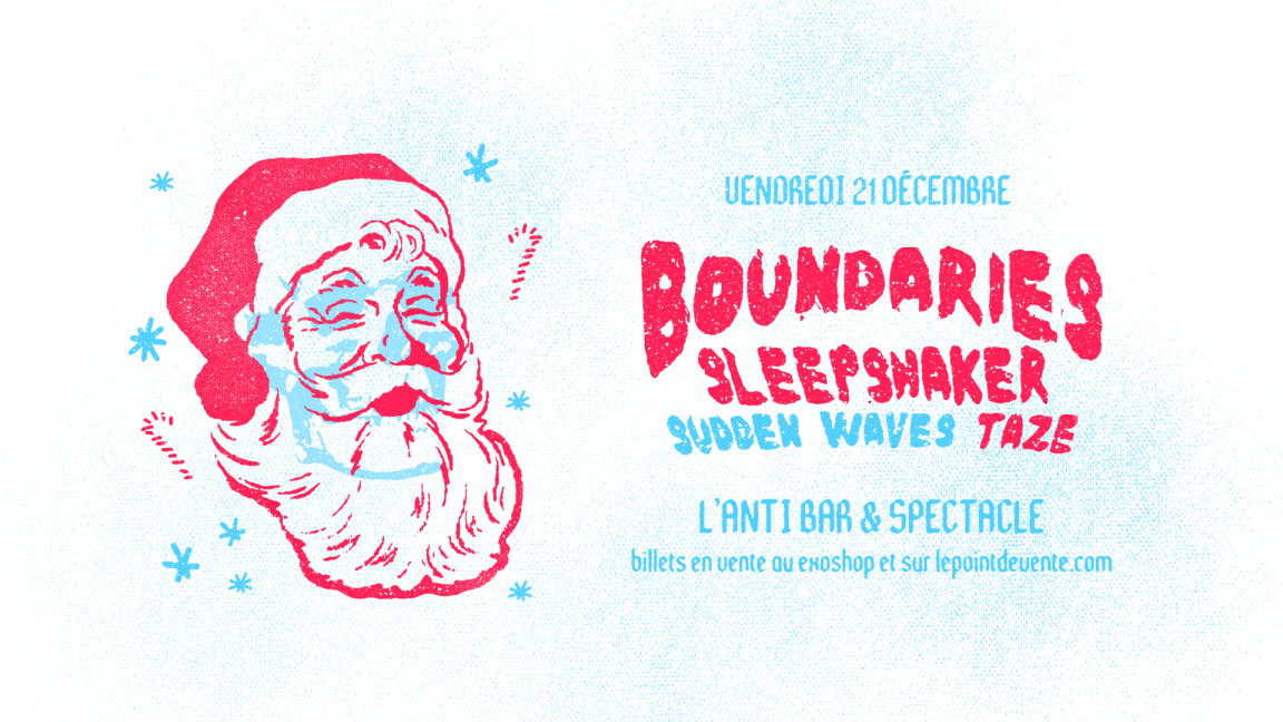 f257bc246194 BOUNDARIES  Christmas Party 2.0 - December 21st 2018 - L Anti Bar ...