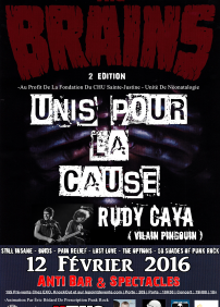 The Brains, Rudy Caya (Vilain Pingouin)