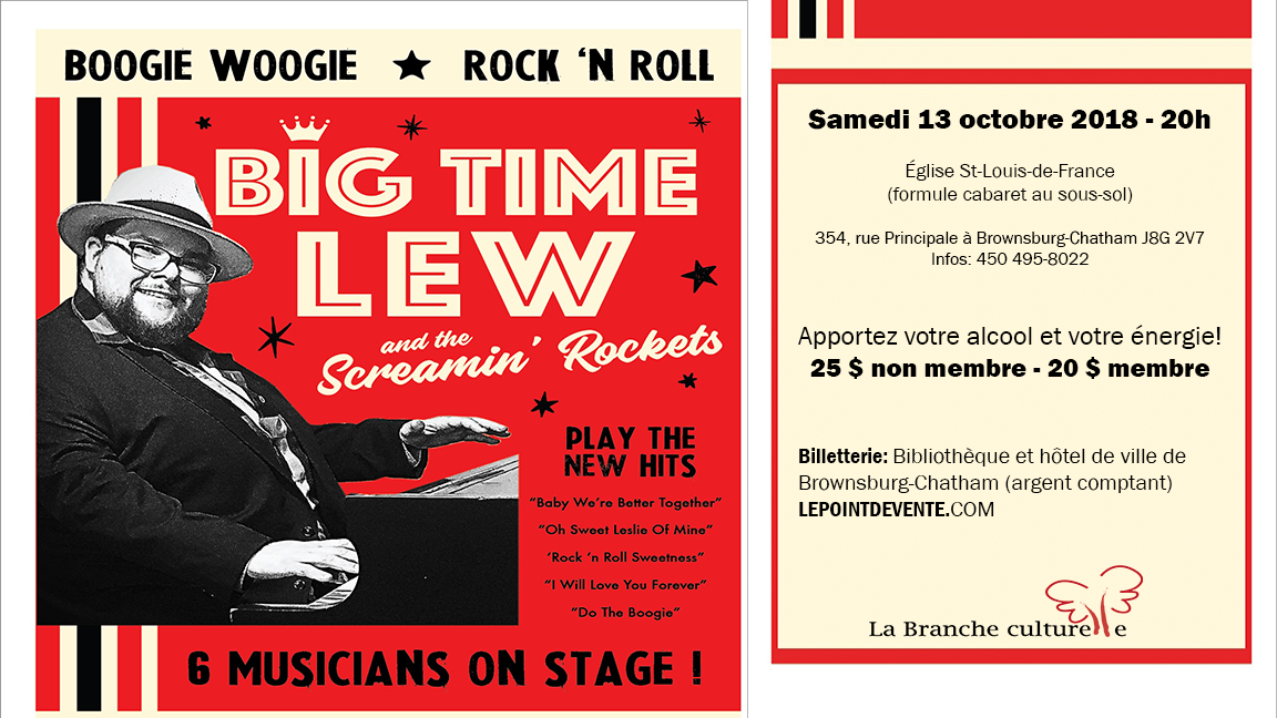 Big Time Lew and the Screamin' Rockets