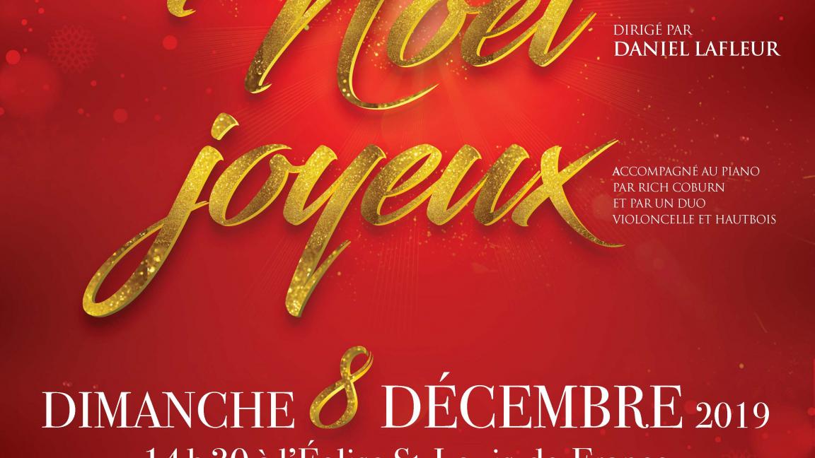 Noël joyeux - Concert de Noël de l'Ensemble vocal Hémiole