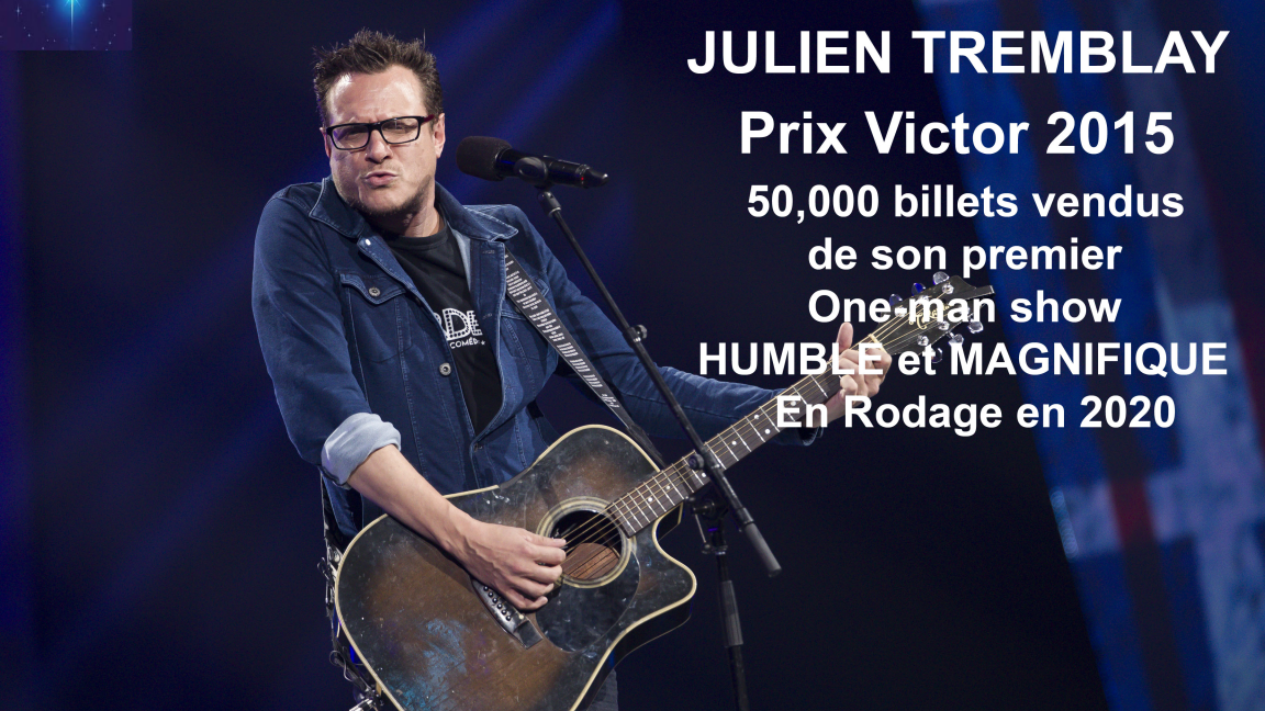 Julien Tremblay en Rodage