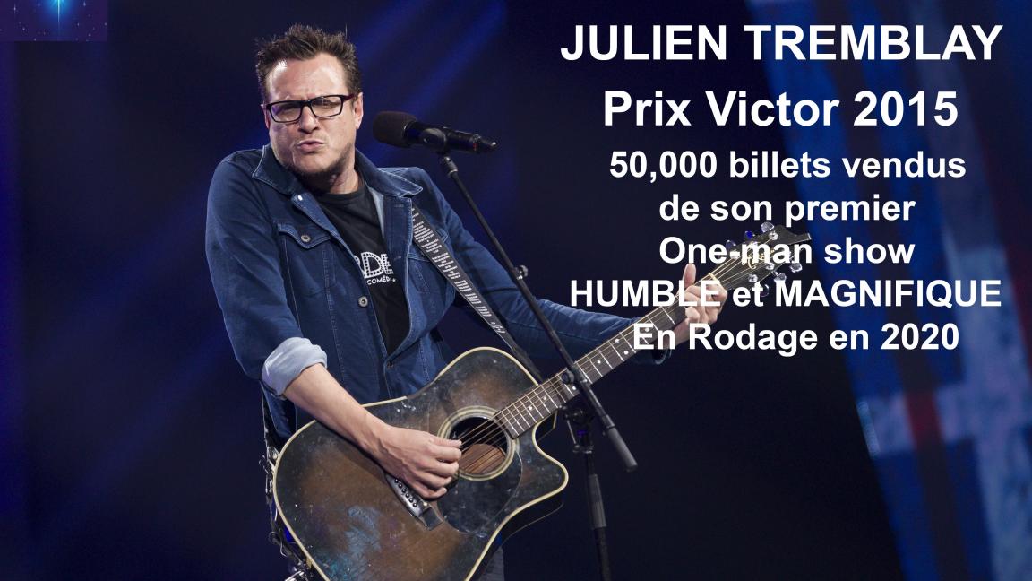 Julien Tremblay en Rodage