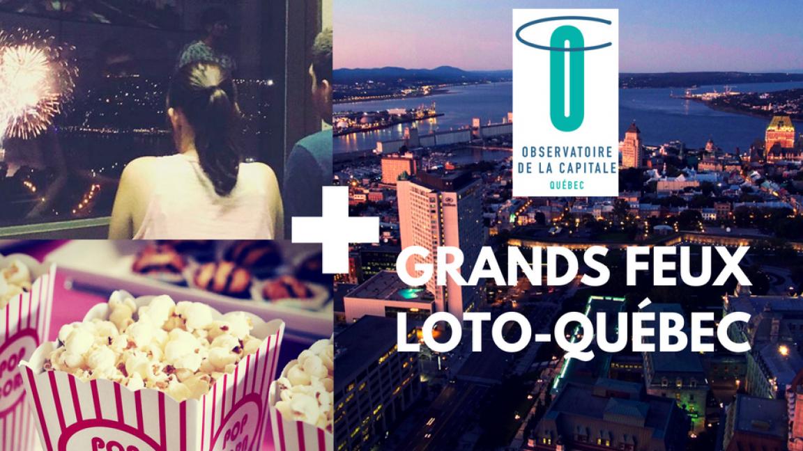 Grands Feux Loto-Québec fireworks - July 31, 2019