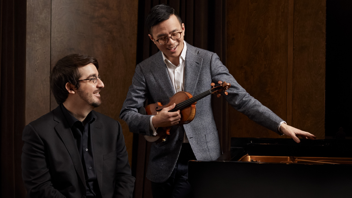 Andrew Wan and Charles Richard-Hamelin play Beethoven