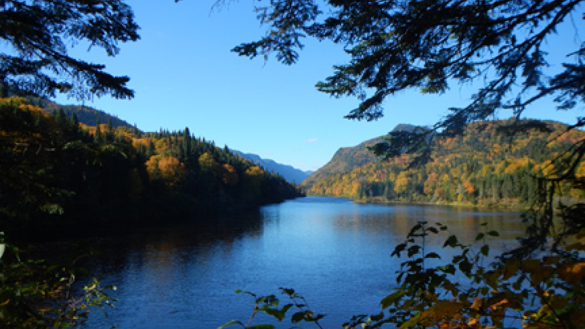 Trekking in the Parc national de la Jacques-Cartier