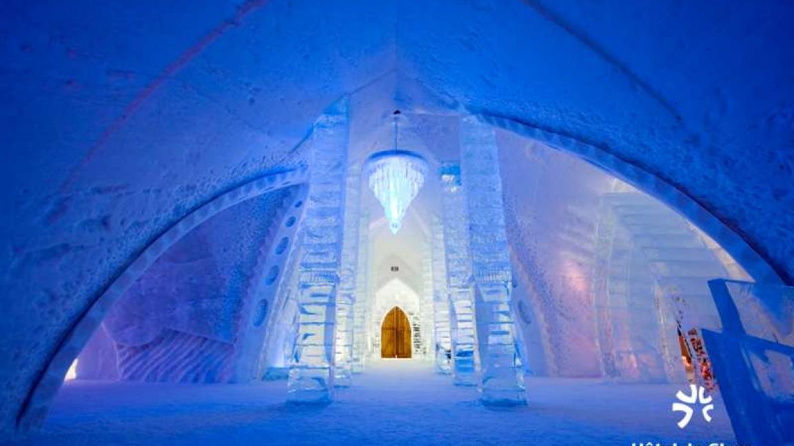 Bureau de la vie étudiante presents québec s ice hotel january
