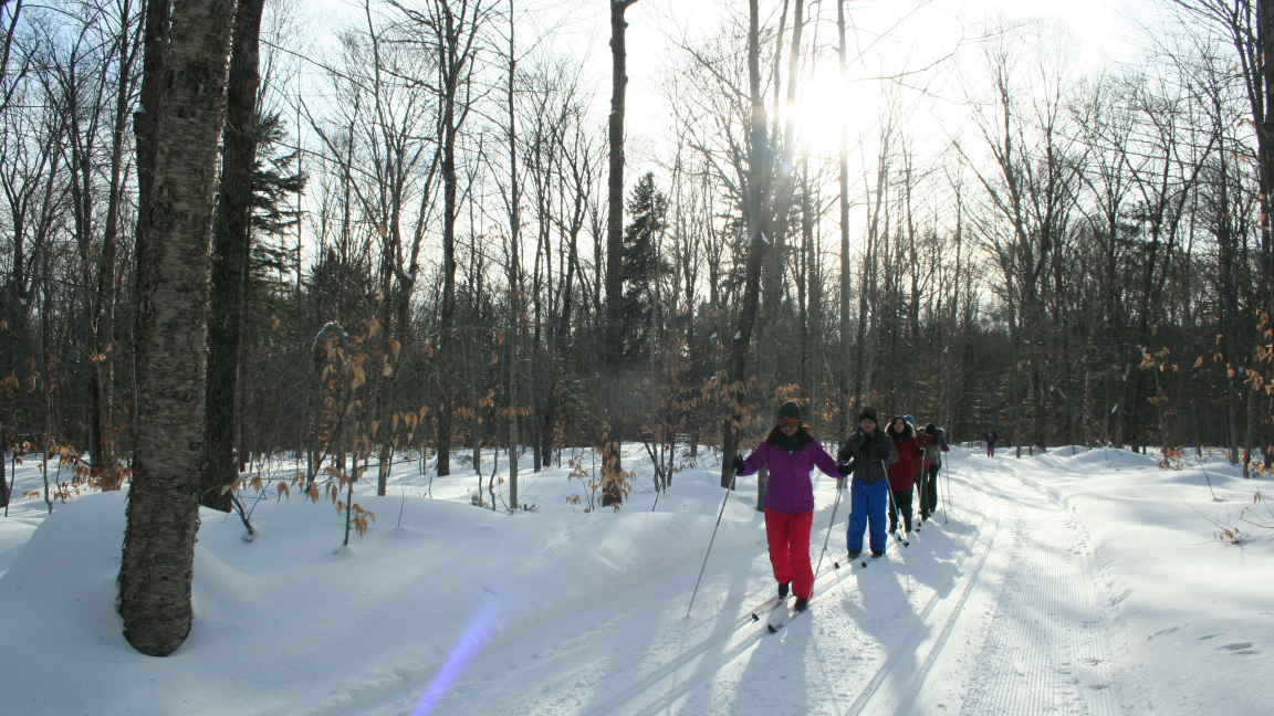 Cross country skiing and snowshoeing at Duchesnay - January 19th