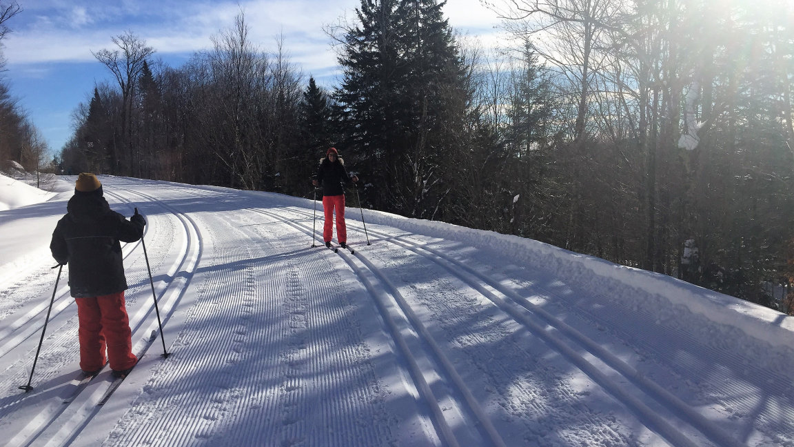Cross country skiing and snowshoeing at Duchesnay - February 9th