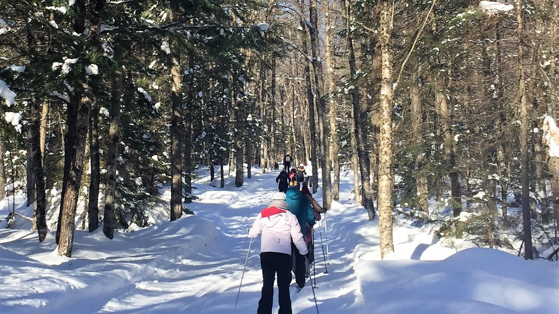 Cross country skiing and snowshoeing at Duchesnay - March 8th