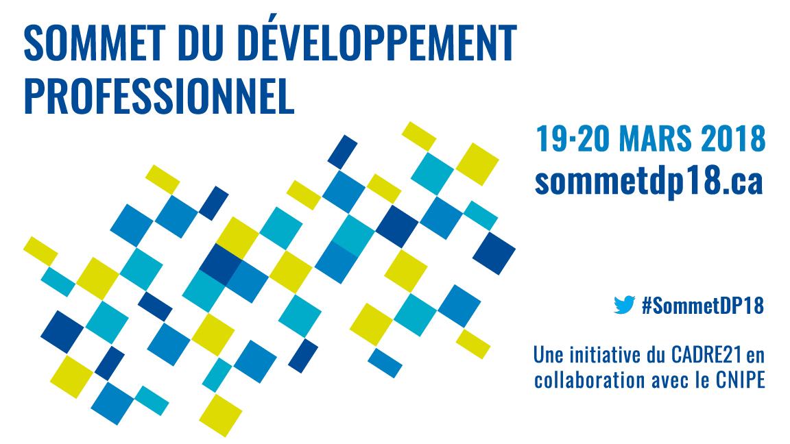 1er Sommet du développement professionnel en éducation