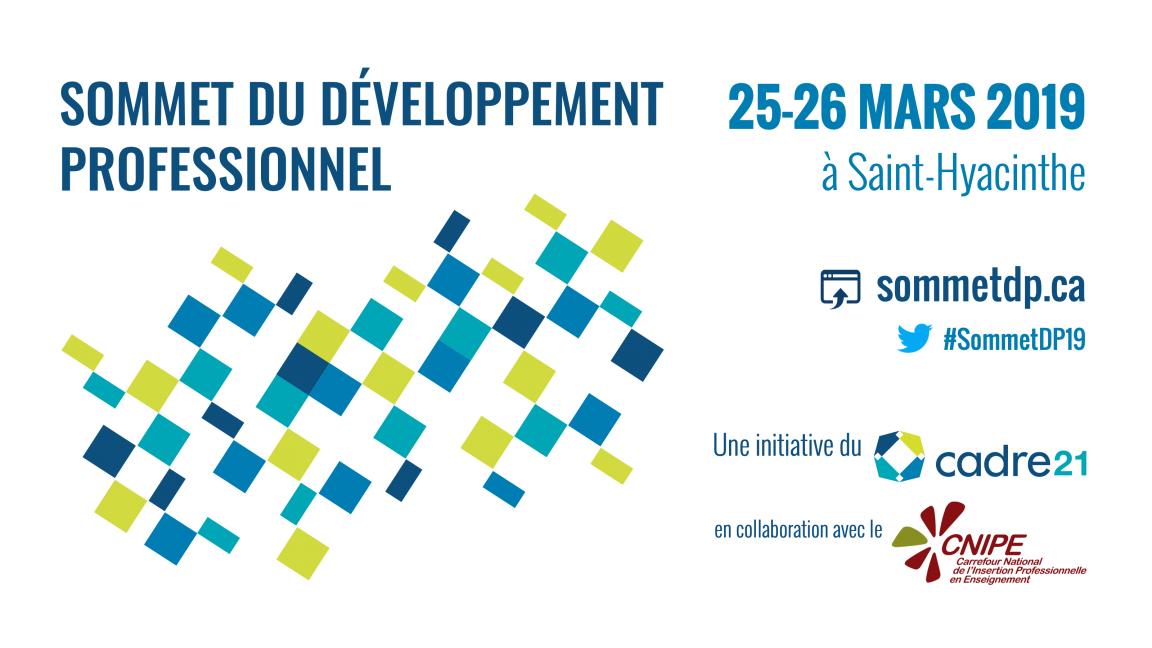 2e Sommet du développement professionnel en éducation