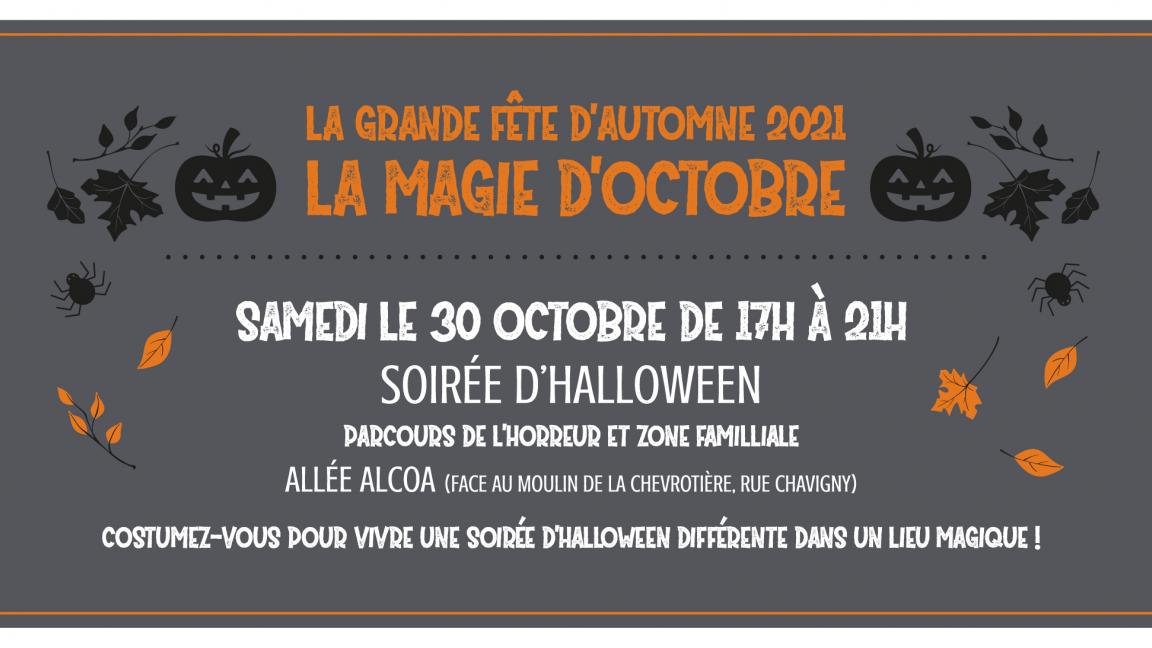 La magie d'octobre-parcours de l'horreur