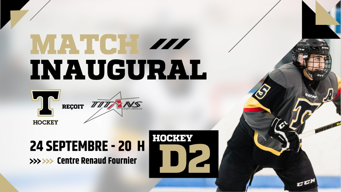 Hockey Match Inaugural D2 Filons 24 septembre 2021