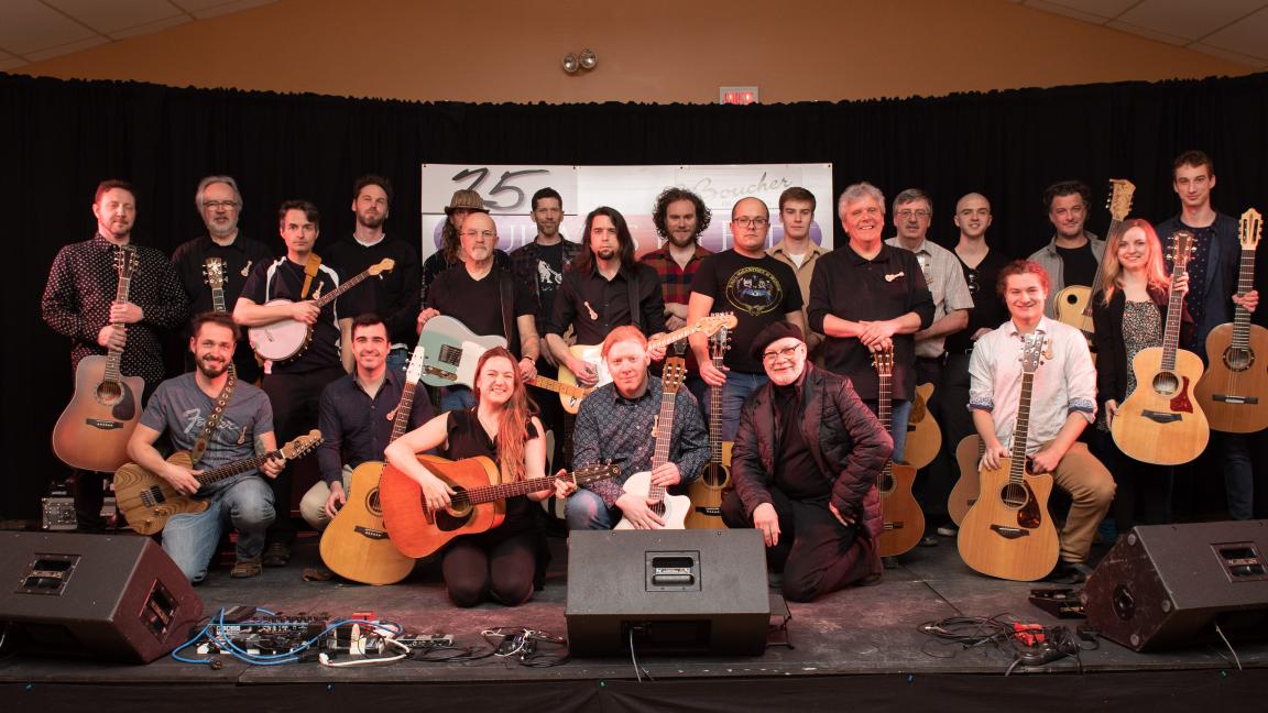 25 Guitares en Fête de L'Islet