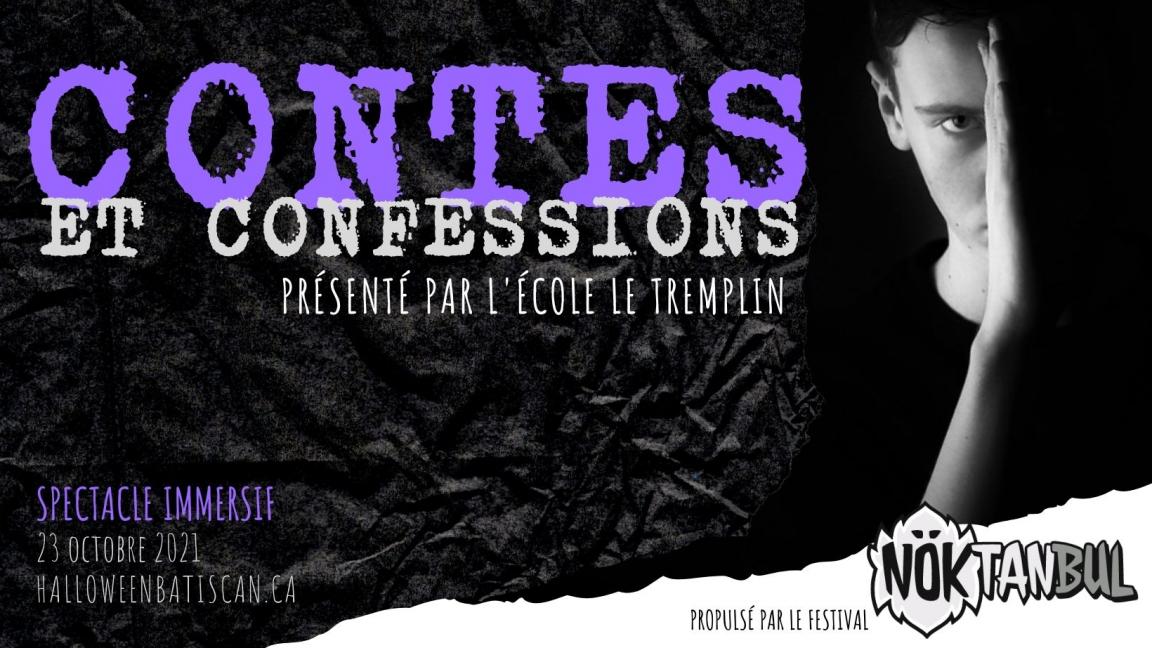 Contes et confessions - Spectacle à la lanterne