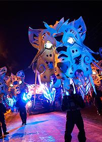 Carnaval de Québec présente Défilé en Formule VIP Charlesbourg – 6 février 2016 – Stationnement Pneus Ratté, Québec, QC