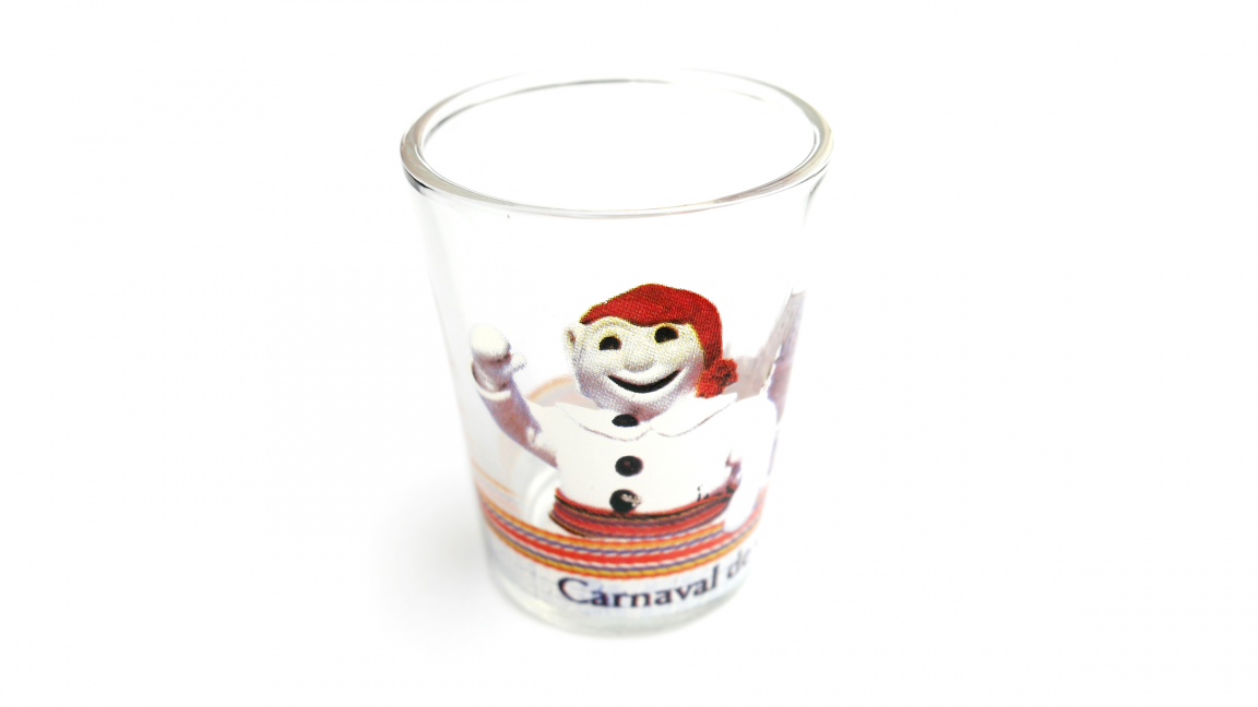 Bonhomme Carnaval Shooter Glass