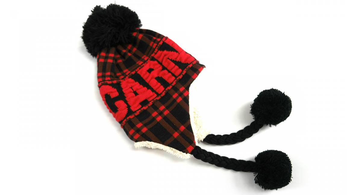 Checkered Tuque for Adults