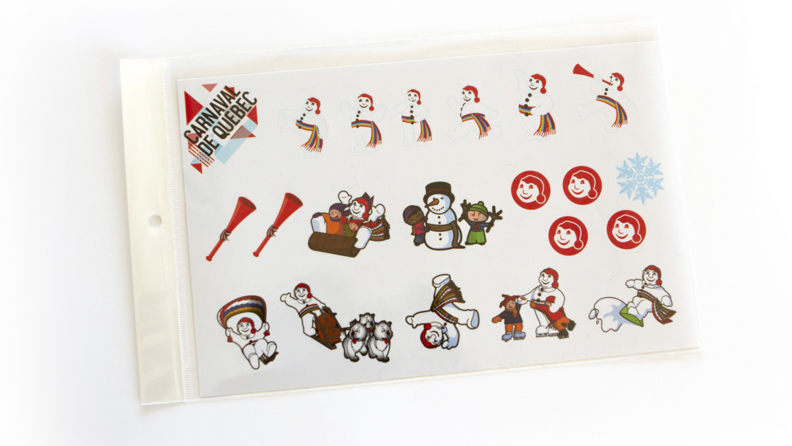 Bonhomme Carnaval Stickers