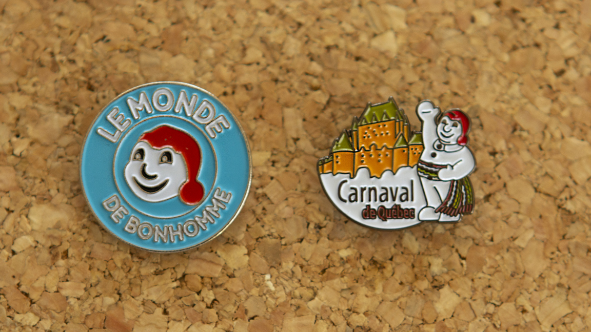 Bonhomme-themed Pin