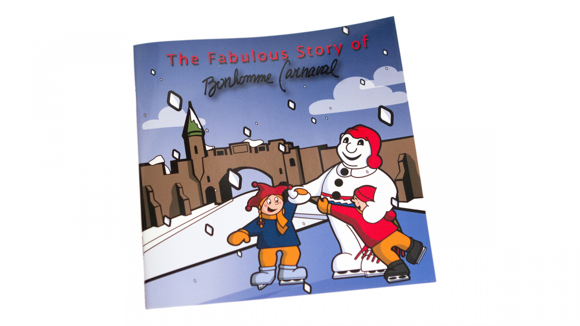 Book Titled « Fabulous story of Bonhomme Carnaval »
