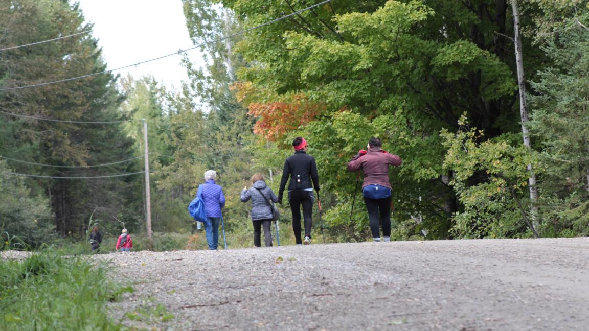 Marche annuelle sur le Chemin de St-Jacques - Appalaches