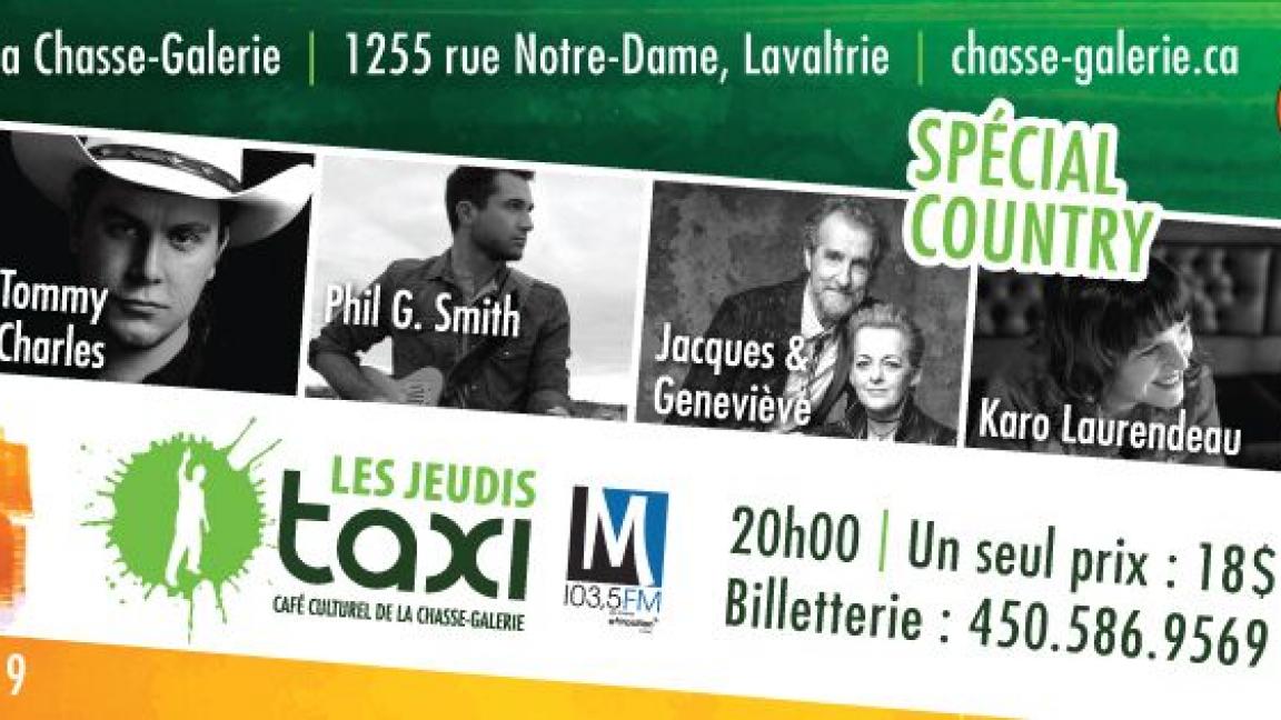 Les Jeudis taxi: 6 décembre