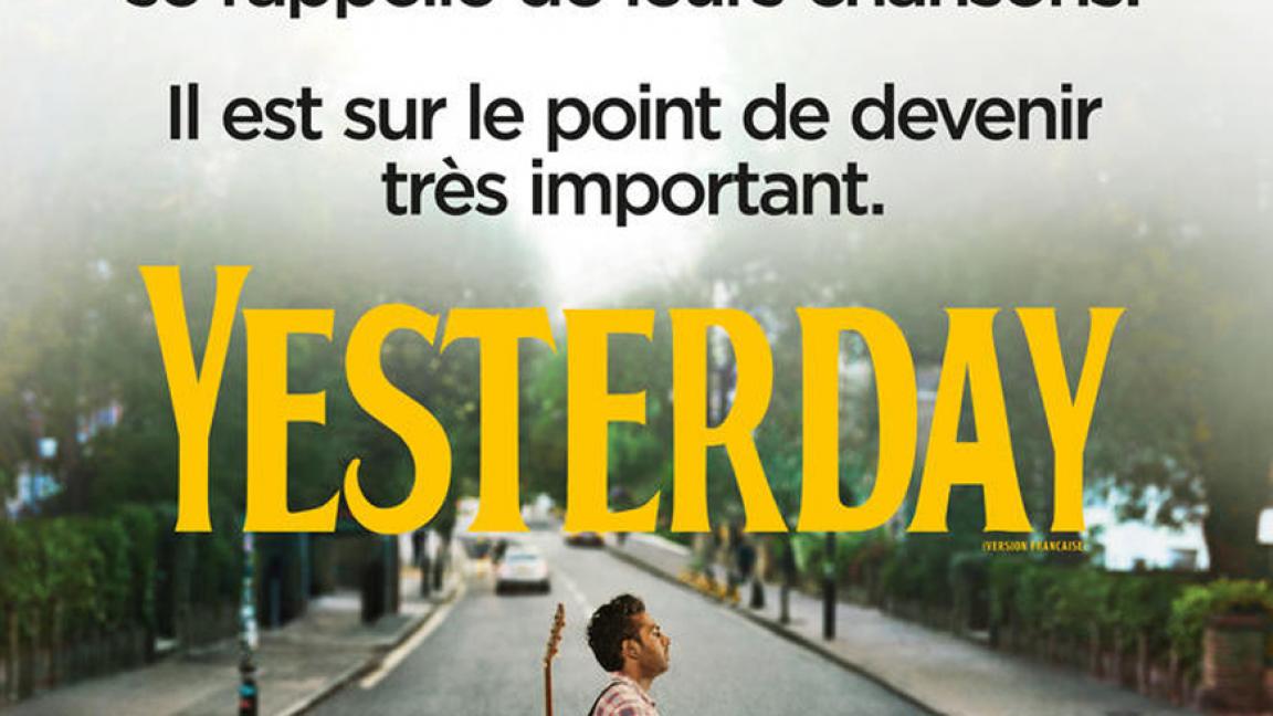 RELOCALISÉ - Café-ciné : Yesterday