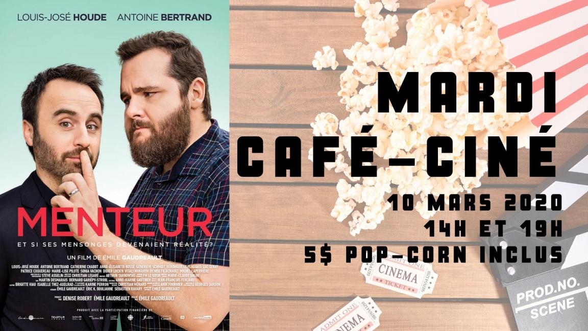 RELOCALISÉ - Café-ciné : Menteur