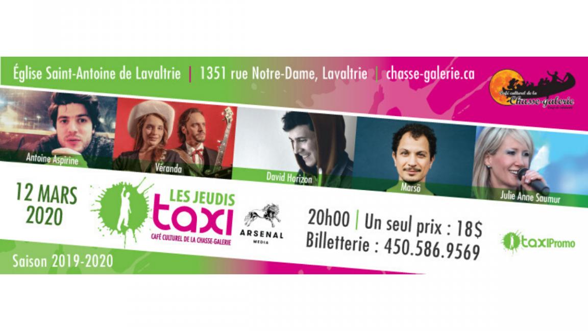 Les Jeudis taxi : 12 mars