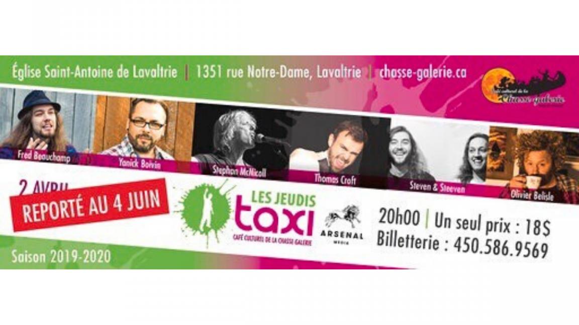 Les Jeudis taxi : 2 avril