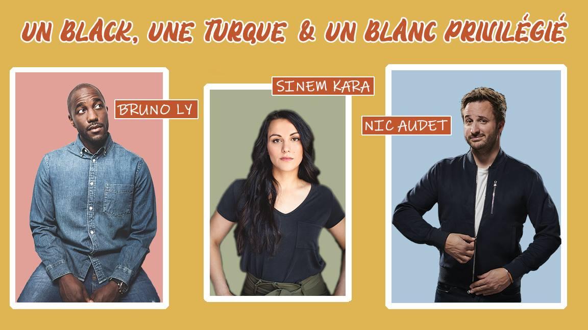 Chasse-galRIRE : Un black, une turque & un blanc privilégié