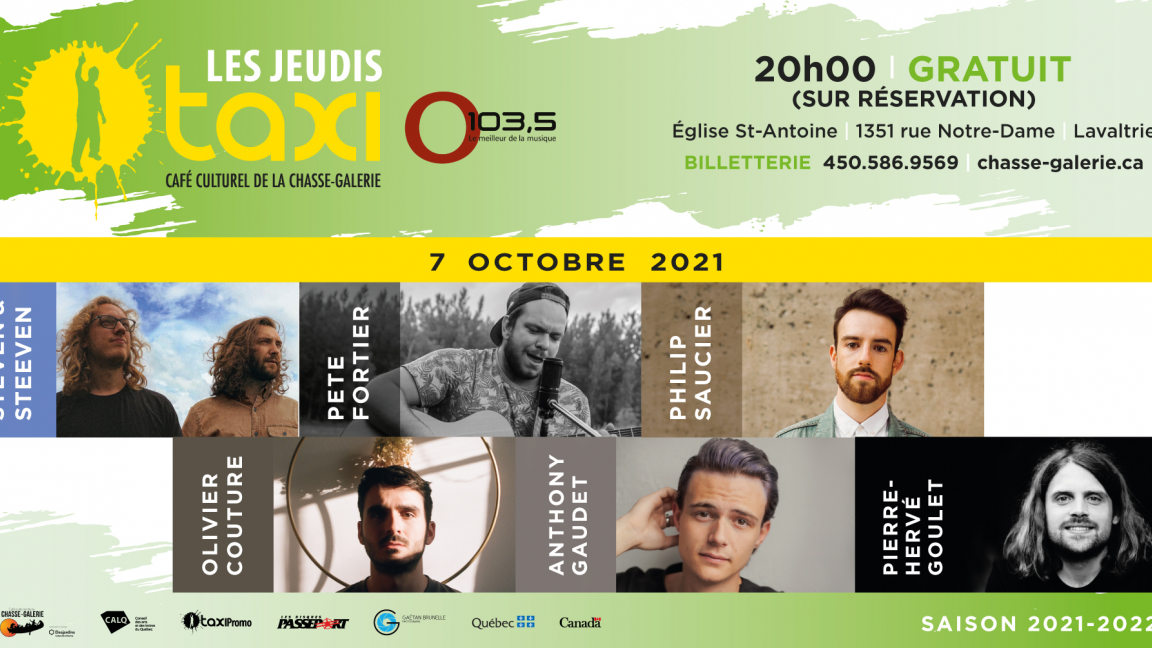 Jeudis Taxi O103,5 - OCTOBRE 2021