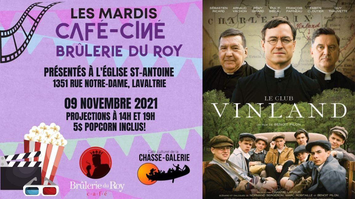 Café-ciné : Le Club Vinland