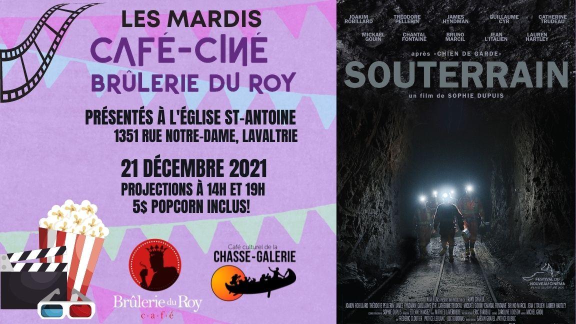 Café-ciné : Souterrain