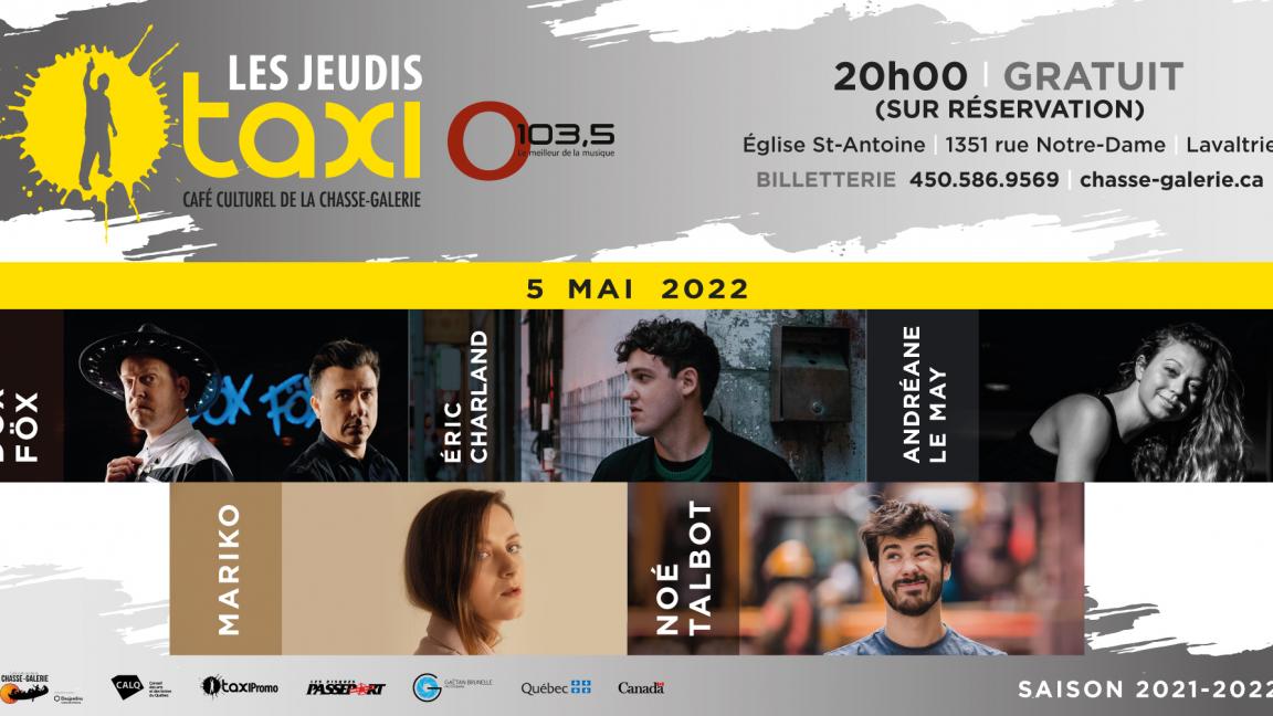Jeudis Taxi O103,5 - MAI 2022