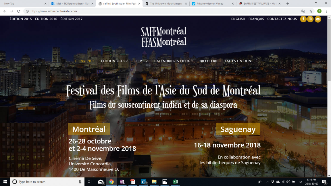 MINI FESTIVAL PASS VALID 2 TO 4 NOVEMBER 2018