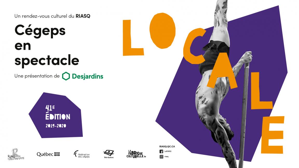 Finale locale de Cégeps en spectacle 2019-2020 Baie-Comeau