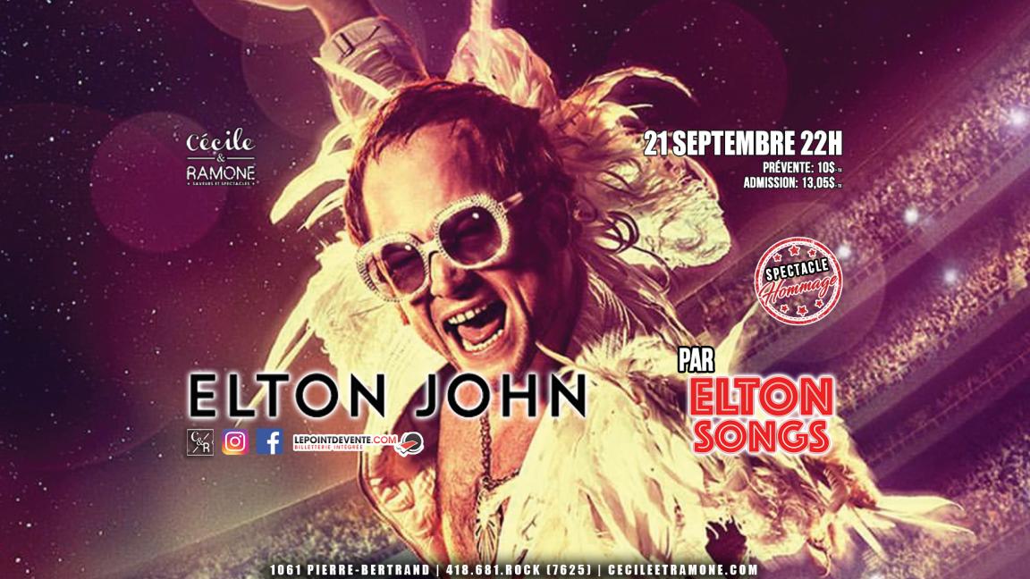 Hommage à Elton John