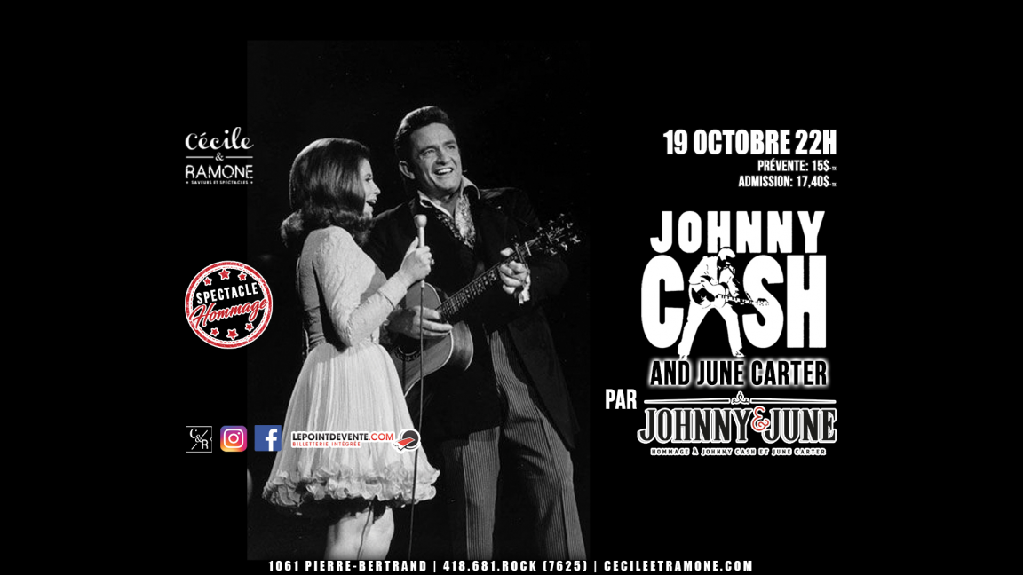 Hommage à Johnny Cash & June Carter