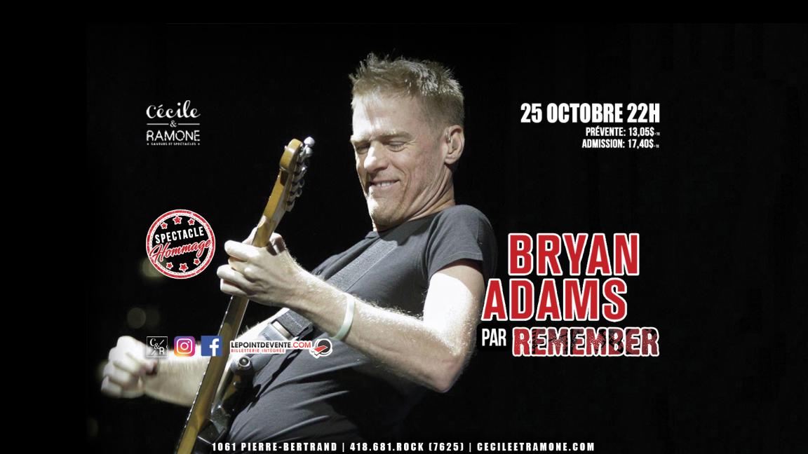 Hommage à Bryan Adams