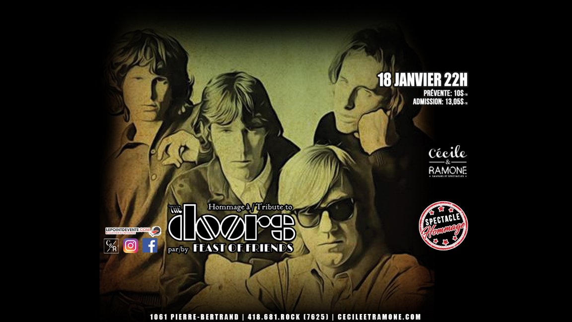 Hommage à The Doors