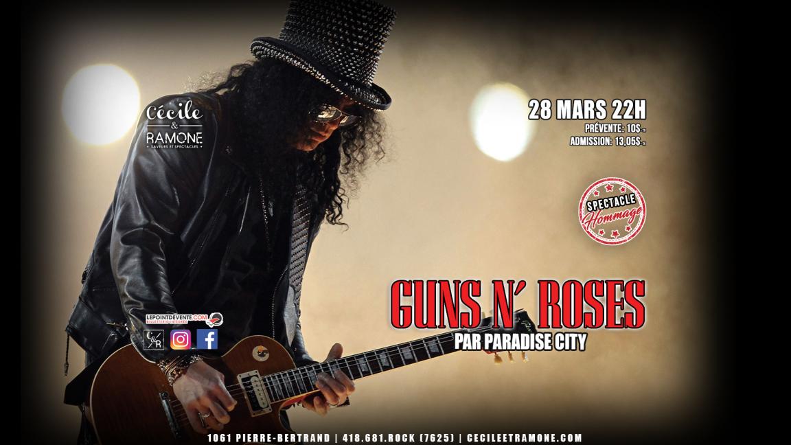 Hommage à Guns N' Roses
