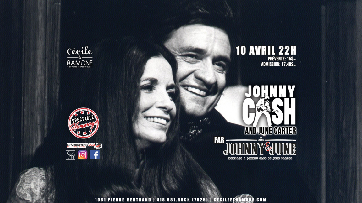 Hommage à Johnny Cash et June Carter