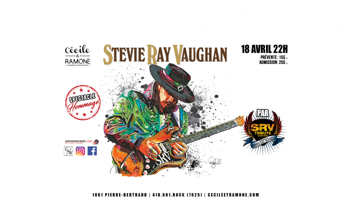 Hommage à Stevie Ray Vaugh