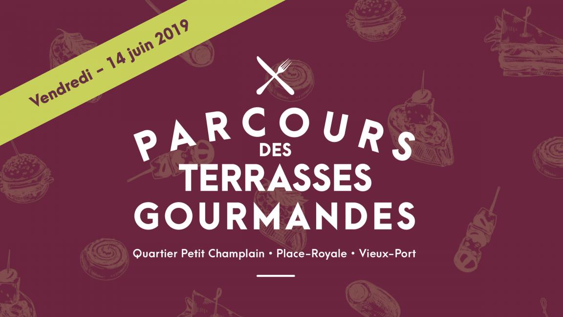 Parcours des Terrasses gourmandes - 6e édition