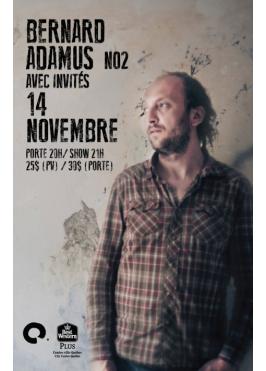 Bernard Adamus 14 novembre