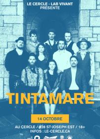 Tintamare: Lancement du nouvel album 'Théorème du nombre critique' + Street Meat