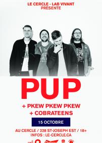 PUP + Pkew Pkew Pkew + Cobrateens